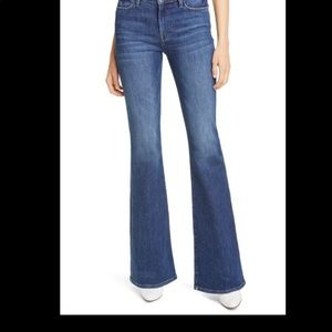Frame Jeans Le High Flare Slim Fit High Rise Blue